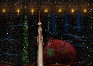 Christmas funny tree Wallpapers