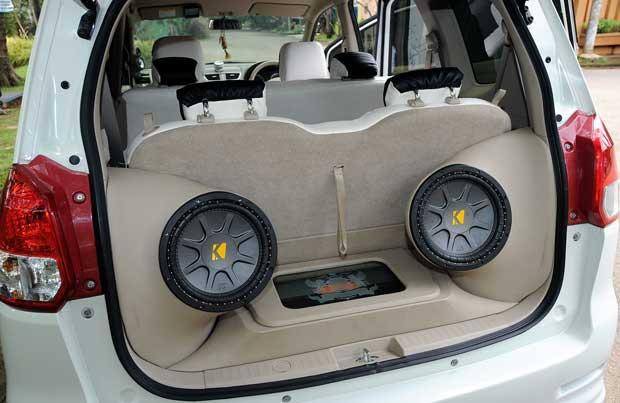 Suzuki ertiga fuul music edition
