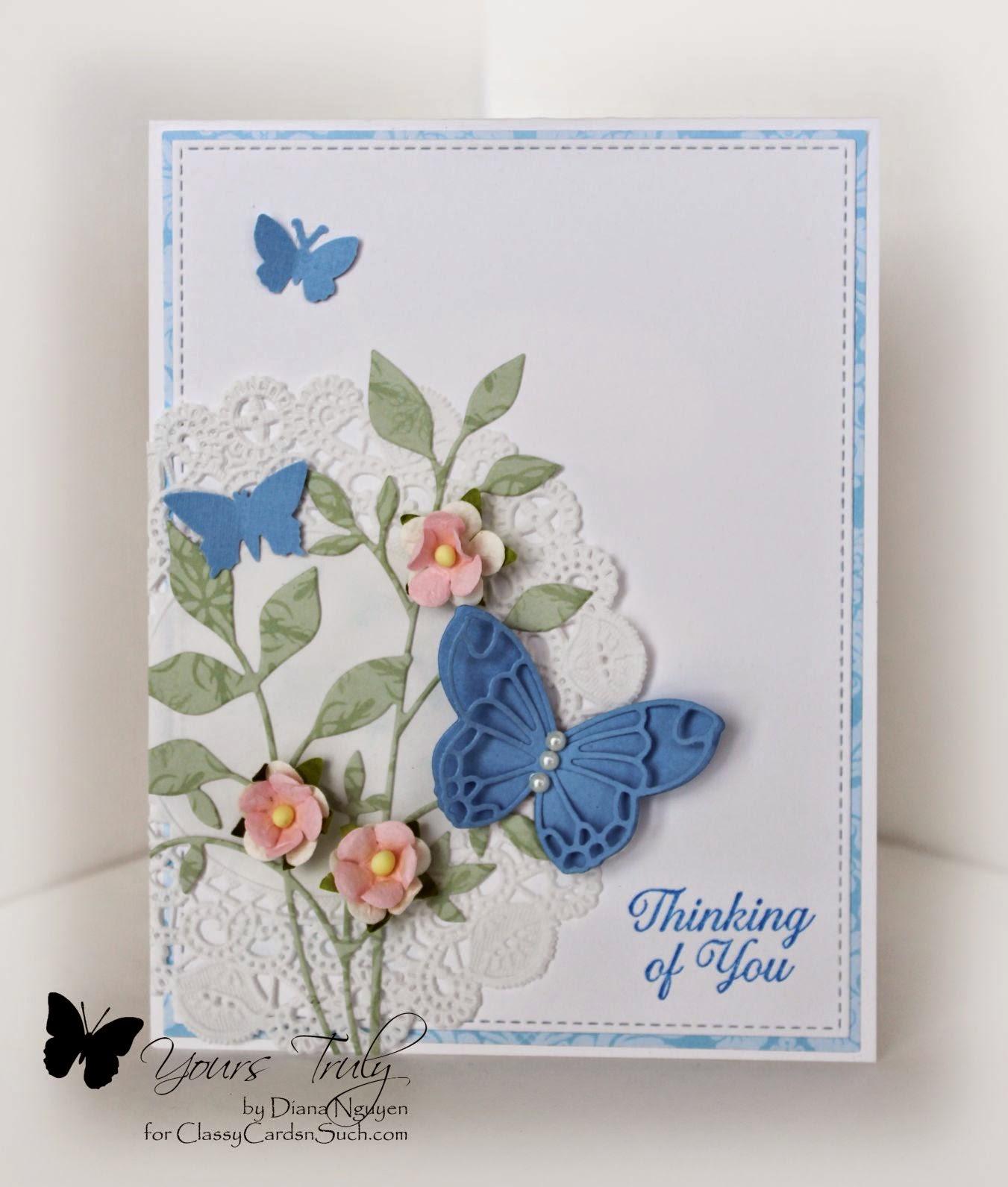 Diana Nguyen, PoppyStamps, butterfly, Memory Box