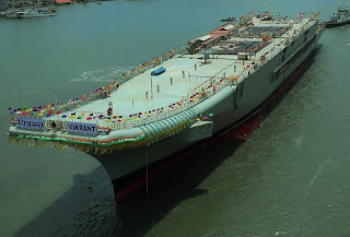 INS Vikrant launched