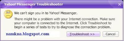 lỗi không đăng nhập được vào yahoo