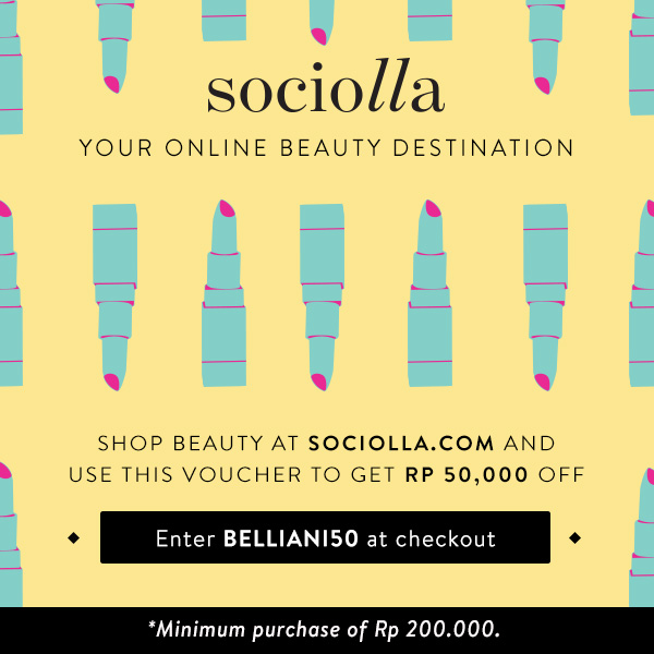 Get Rp 50.000 off on Sociolla Beauty Store