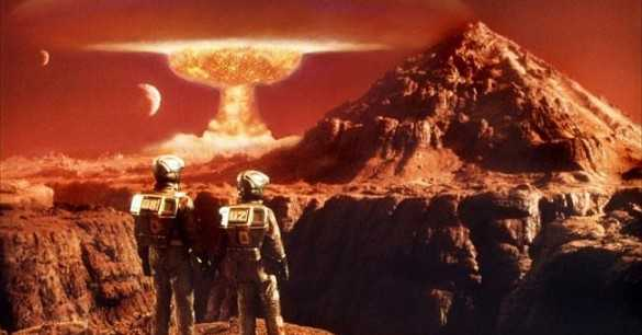 Elon Musk: 'Let Us Terraform Mars By Dropping Thermonuclear Bombs On It!'