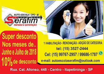 SERAFIM AUTO ESCOLA CFC - B RAPIDEZ E SATISFAÇÃO
