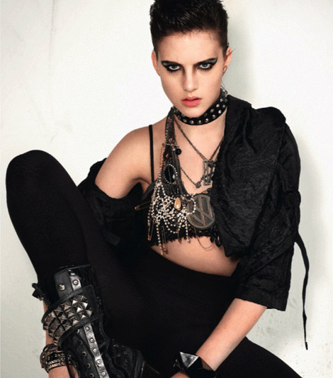 Devilinspired Punk Clothing Tips For The Makeup Of Punk Style