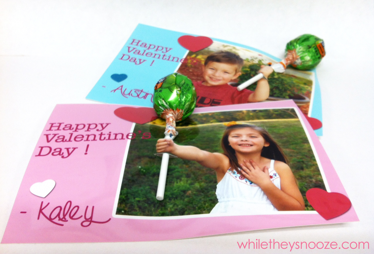 While They Snooze Quick Kid Valentines Day Cards for School Friends – Valentines Cards for School