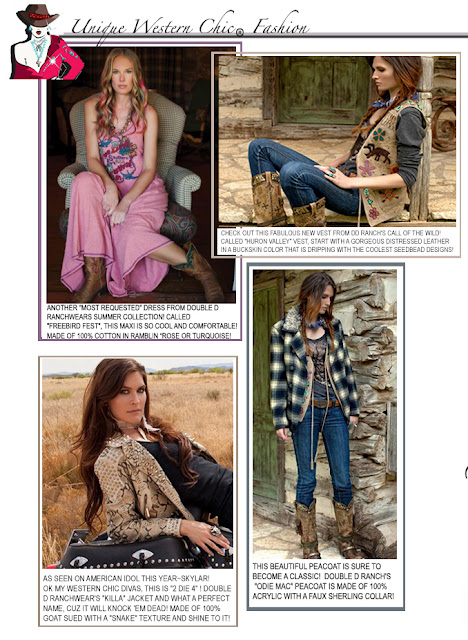 Ladies Western Wear - The Unique Western Chic