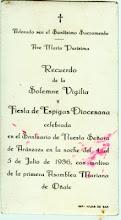 FIESTA DE ESPIGAS DIOCESANA