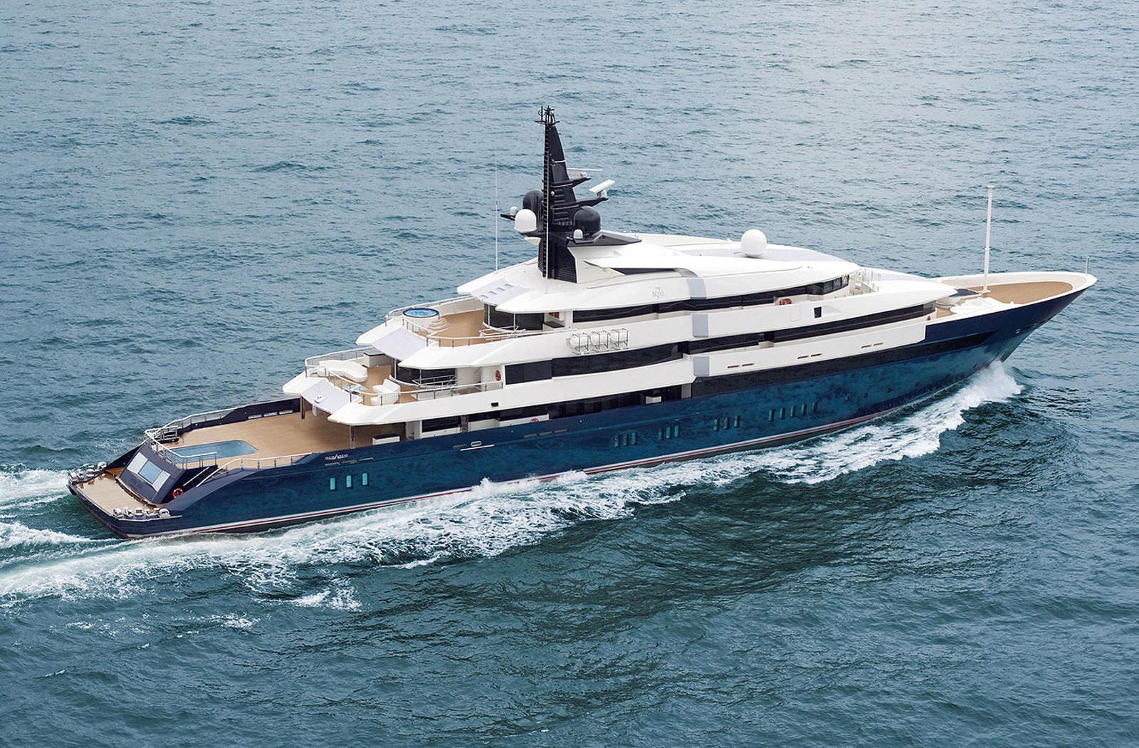 Megayacht SEVEN SEAS