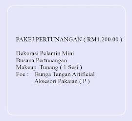 PROMOSI PAKEJ PERTUNANGAN EKSKLUSIF RM1,200.00 2016