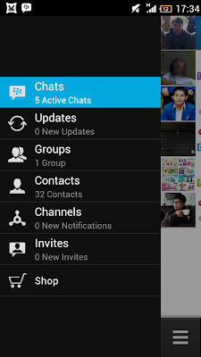 FREE! Download File APK BBM For Android (Update 2 April 2014) With New Stickers