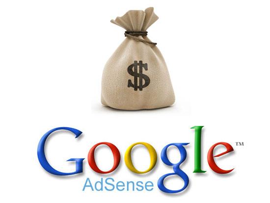 Google Adsense buat duit dengan blog dalam USD