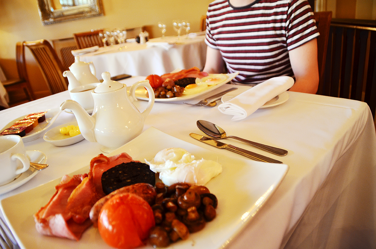 Ox Pasture Hall Hotel Breakfast Review, Full Yorkshire