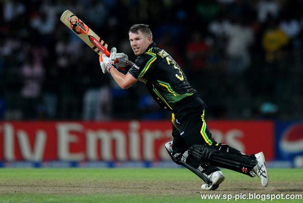 Australian Cricketer David Warner - 30.6KB
