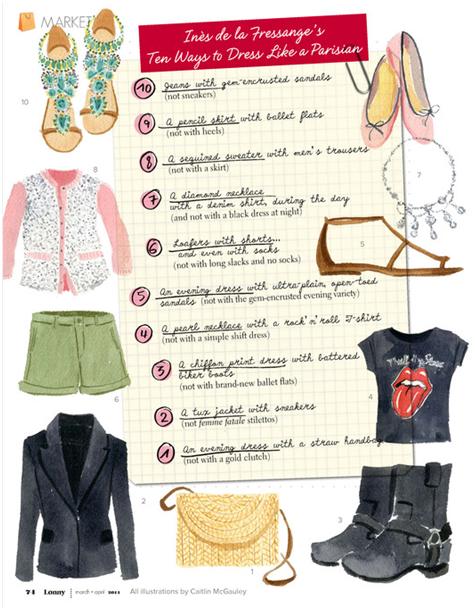 Lotus Reads Parisian Chic A Style Guide By Ines De La