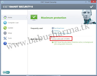 eset smart security 6 with key finder