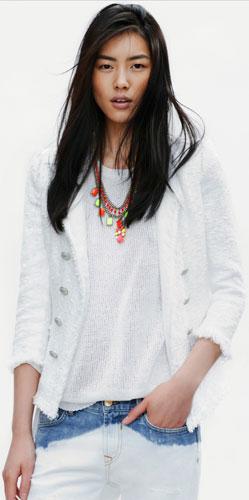 blazer primavera verano 2012 Zara