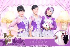 sewa photo booth wedding