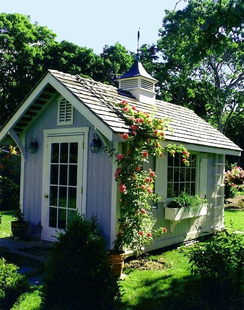 Lady Annes Cottage More Charming Garden Sheds - cottage garden sheds