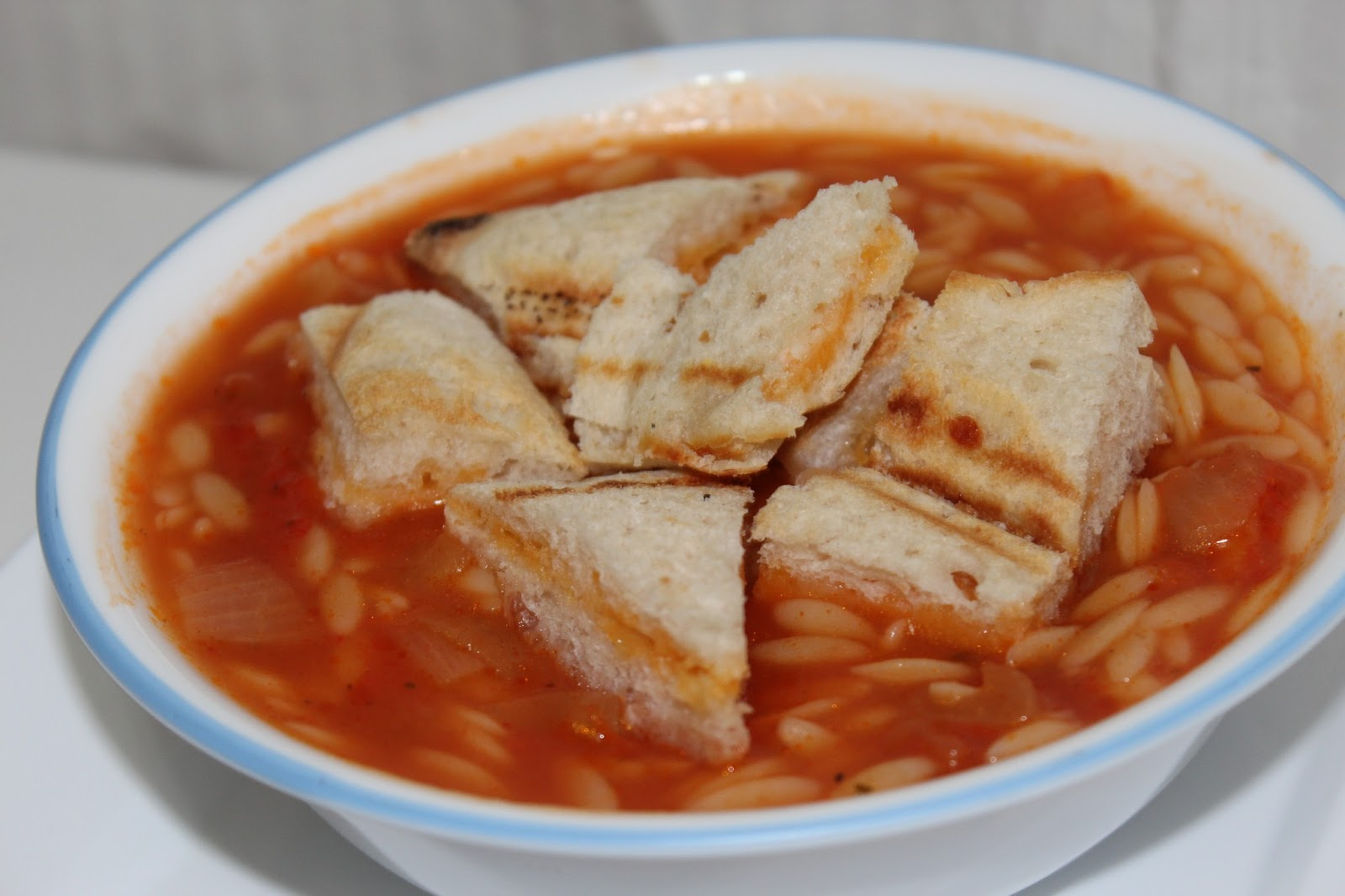 Creamy Tomato Orzo Soup Recipe — Dishmaps