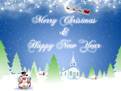 Merry Christmas Happy New Year 2016 HD Wallpapers Images