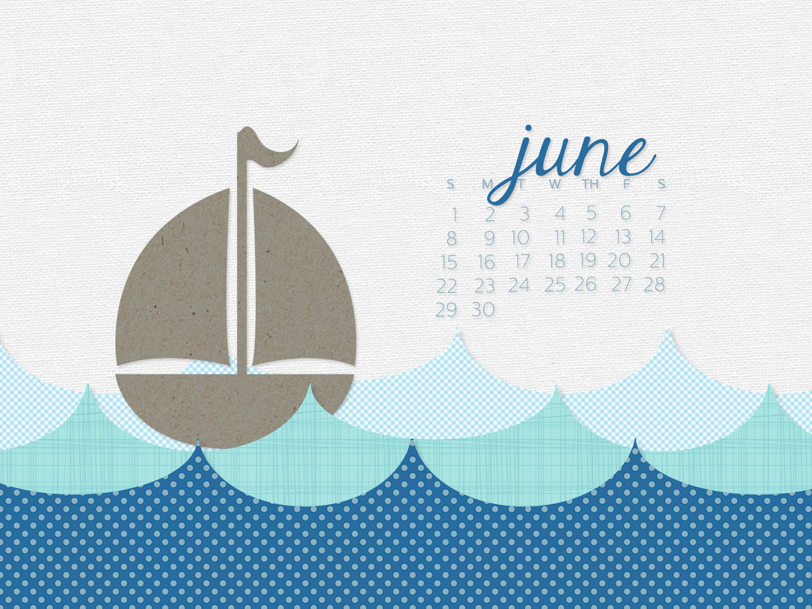 simply brenna monthly desktop calendar wallpaper june 2014