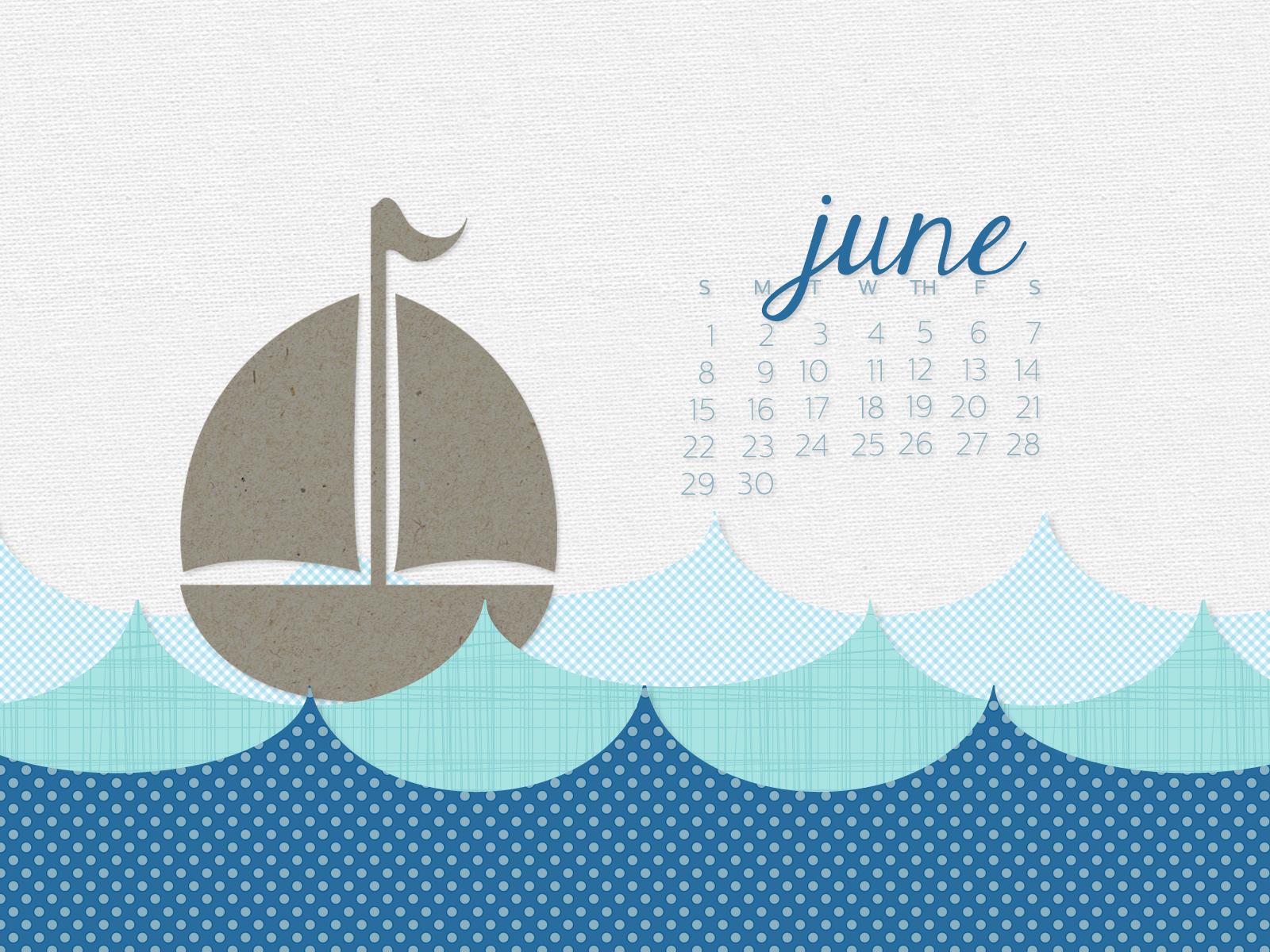 simply brenna monthly desktop calendar wallpaper june 2014
