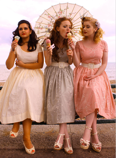 the bridesmaid gowns