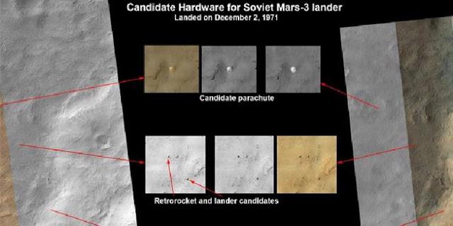 Inikah jejak misi pendaratan Mars Uni Soviet tahun 1971