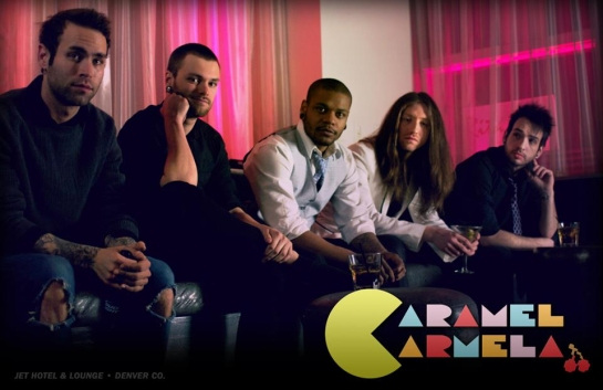 Caramel Carmela: unsigned metal\electronic band from Denver, CO, US played in E113 of the ArenaCast