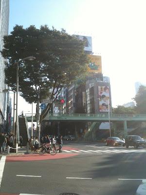 渋谷・宮下公園交差点