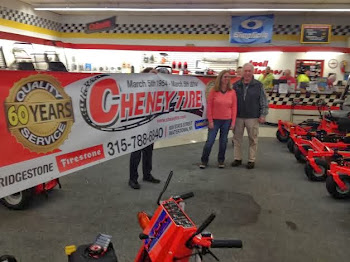 Maureen and Tom Cheney Celebrate Store's Anniversary