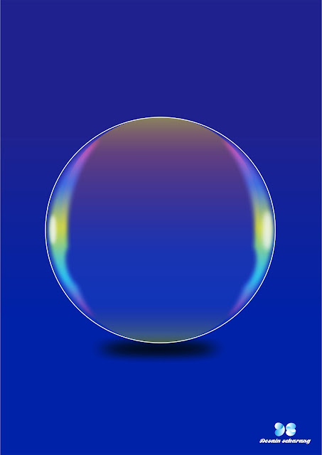 membuat soap bubble vector di corel draw