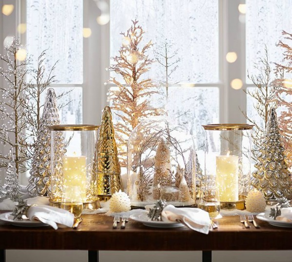 beautiful christmas trees for small spaces