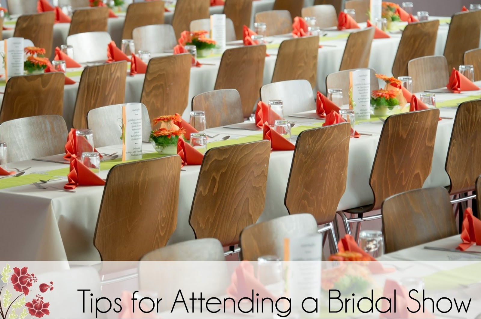 Tips for Attending a Bridal Show