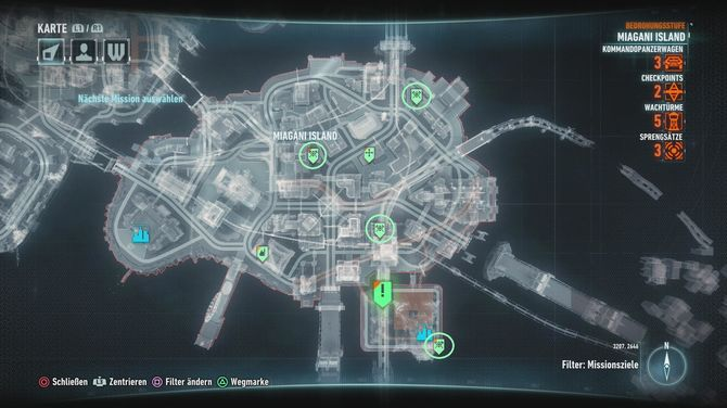 Batman Arkham Knight Founders Island All Missions Locations