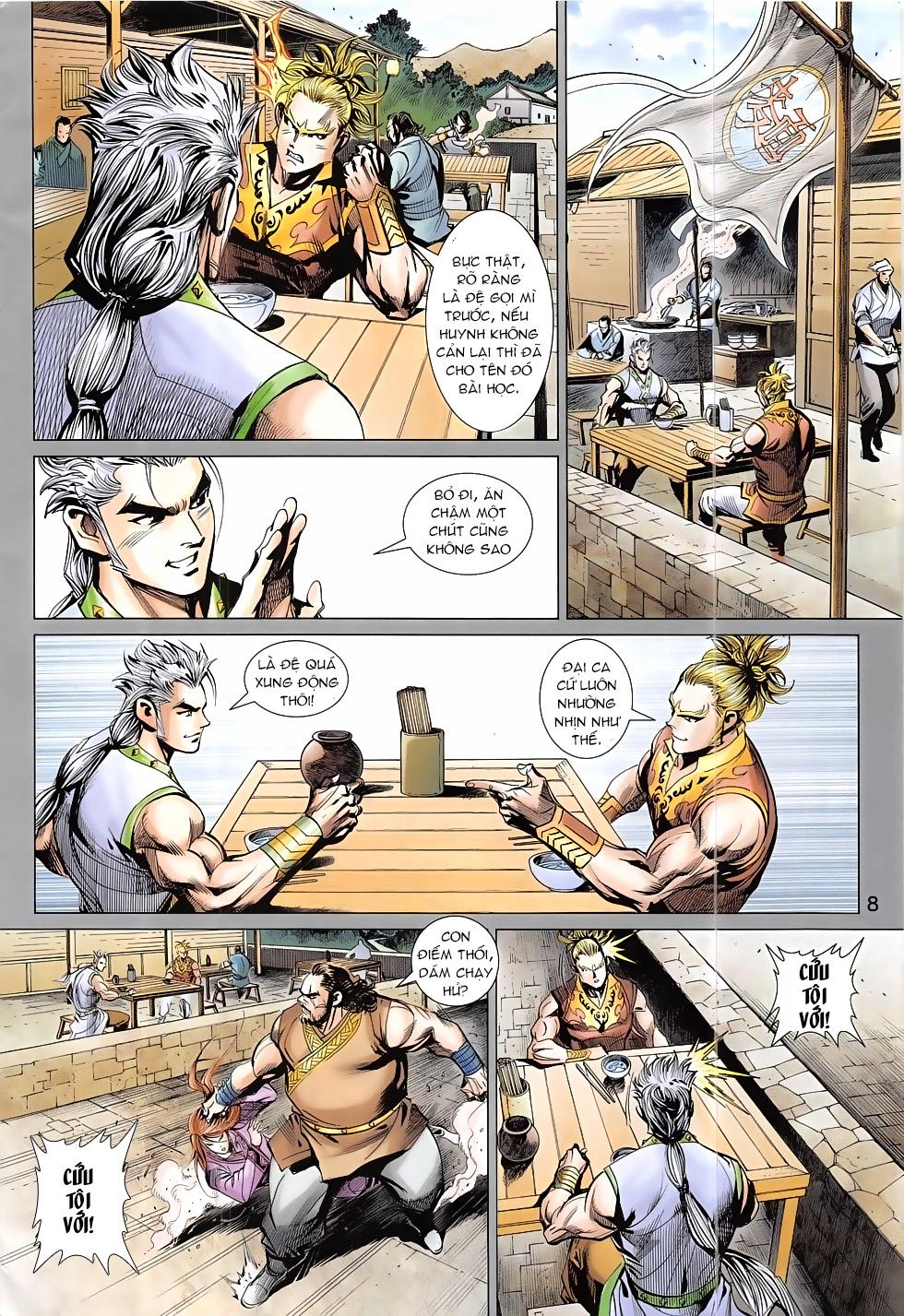 Thần Chưởng trang 8