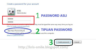 Cara memberi password komputer PC laptop-Notebook windows 74