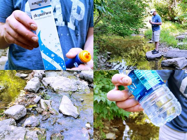 Aquapura Personal Water Filter - Be Prepared!