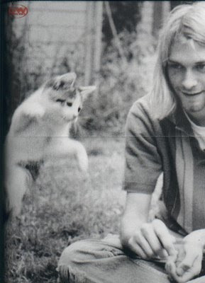examining kurt cobains personality essay Kurt cobain was the lead singer, lead guitar, and a founding member of this   his dad would later marry and kurt had a real personality shift.