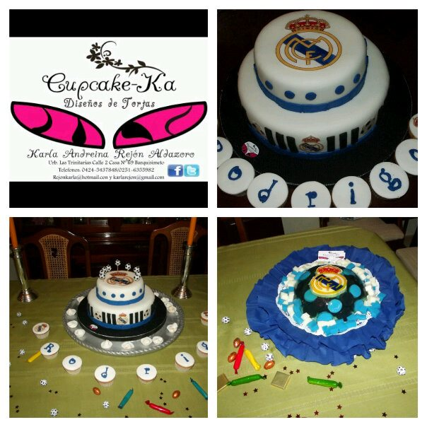 TORTAS REAL MADRID