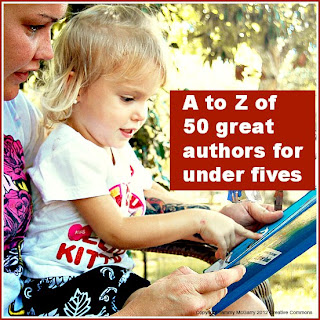 A to Z of authors for under fives
