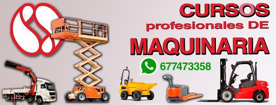 CURSOS PROFESIONALES DE MAQUINARIA