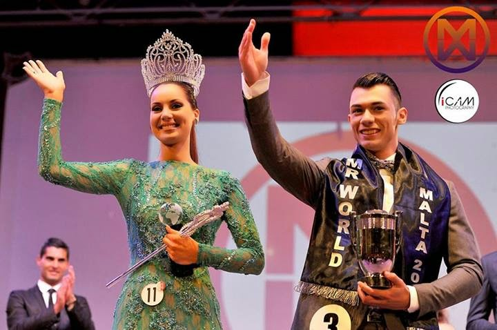 Mister and Miss Malta 2014 winner Joanne Galea & Bjorn Demicoli
