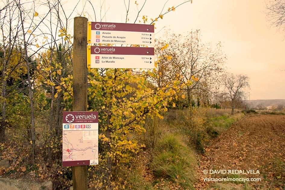 Camino 9 del Alma Murallas de Veruela Senderismo Ruta Caminar