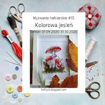 Hafty Uli #15 Kolorowa jesień