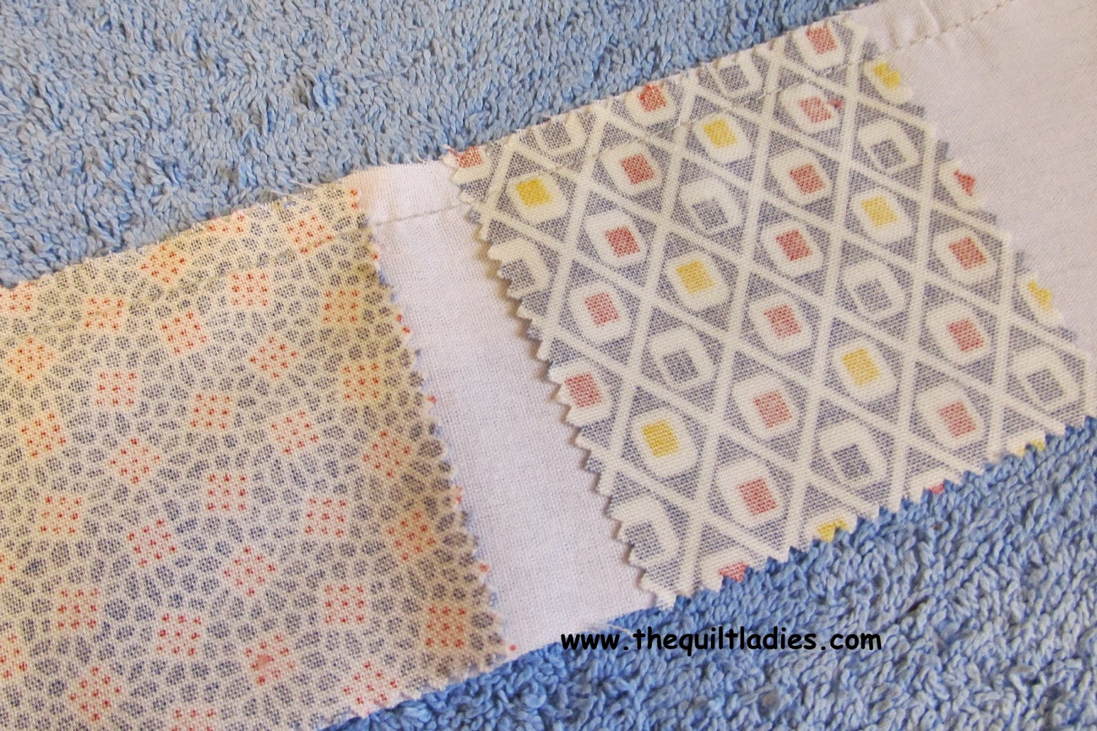 tutorial on a 4-patch quilt pattern
