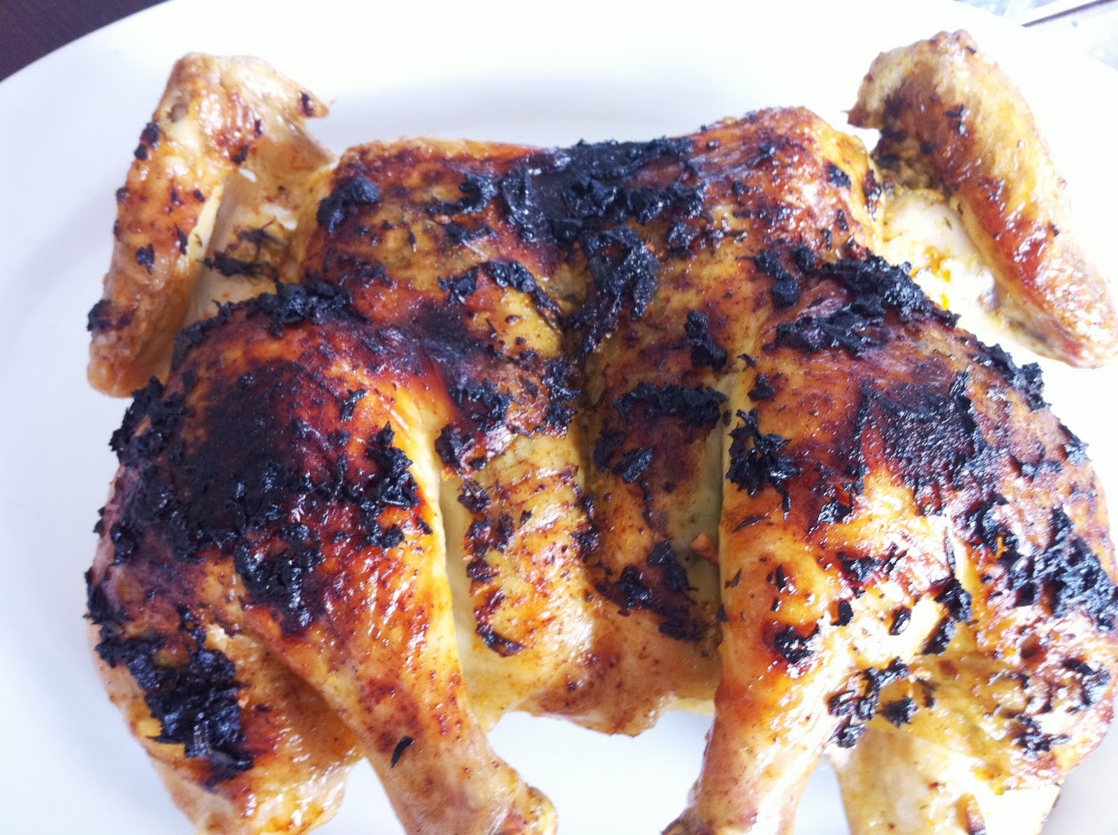 Roasted Herb & Garlic Spatchcock Chicken - Recipes4EveryKitchen