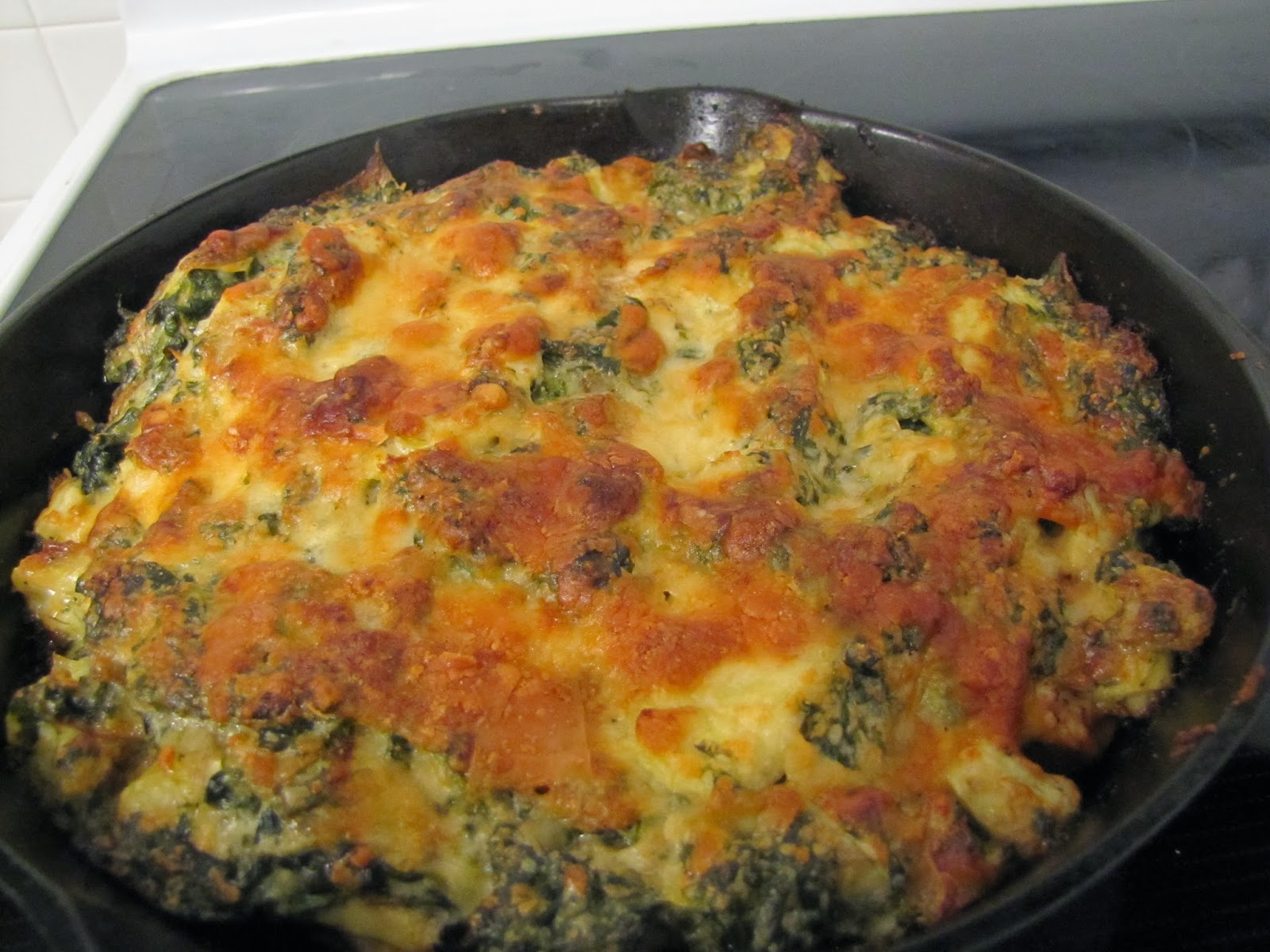 Spinach Artichoke Chicken ~ Faithfulness Farm