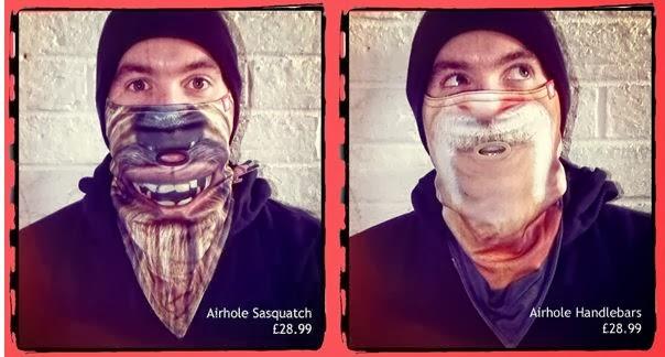 Airhole Sasquatch & Airhole Handlebars Face Masks